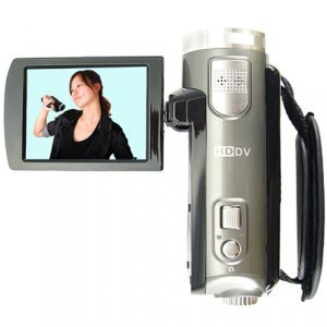 High Definition Camcorder with 3 Inch Flip LCD (720P) New