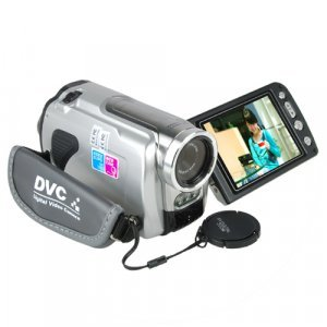HD Camcorder - High Definition Digital Video Camera (Silver) New