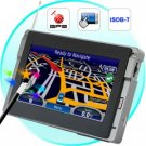 4.5 Inch Portable GPS Navigator + ISDB-T Digital TV New