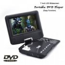 7 Inch LCD Widescreen Portable DVD Player with Copy Function New