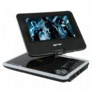 7 Inch Portable DVD Player with Swivel Screen + Analog TV New