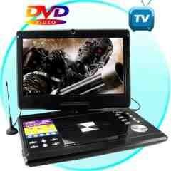 Portable Multimedia DVD Player with 12 Inch LCD (16:9) New
