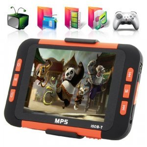 MP6 Player with 3.5 Inch LCD Screen + ISDB-T Digital TV (8GB) New