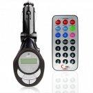 Adjustable Angle 206 Channel Car MP3 FM Modulator New