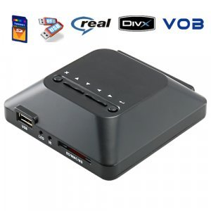 SD Card + USB Media Player for TV New