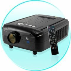 HD Multimedia LCD Projector - 120 Inch Beauty New