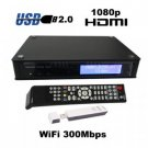 1080P HD Media Tank - Media Network SATA HDD Enclosure with WiFi New