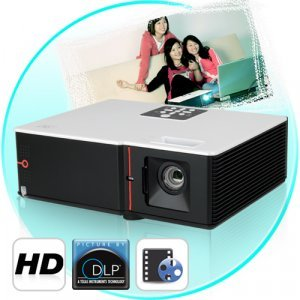 Theatre Maximus - DLP Projector w/ Brilliant Color Technology New