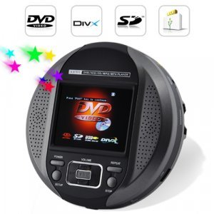 Portable DVD Player - DVD/DIVX/CD/Media Player New