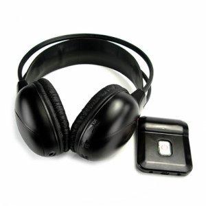 IR Wireless Earphones with USB + Mic New