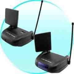2.4GHz Wireless Audio Video + IR Remote Transmission Set New