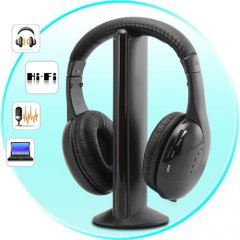 Wireless Headphone and Receiver with MIC � 2 New