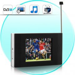 Portable DVB-T Digital TV Player with Recording New