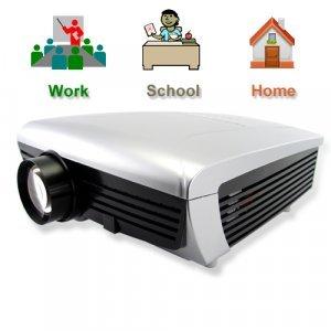 Multimedia LCD Projector (VGA, AV, TV, 5 inch LCD) New