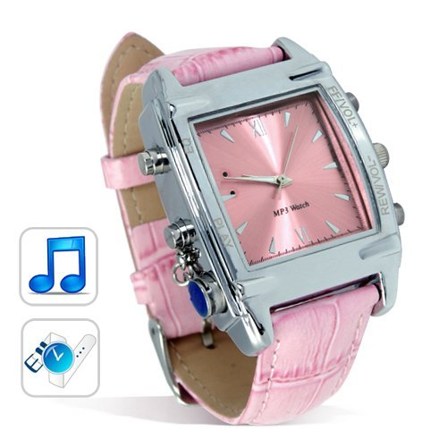 Minuet Designer MP3 Watch with Leather Band (4GB) New