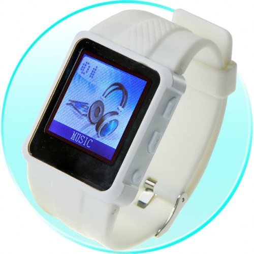 Original Watch MP4 Player 8GB White - 1.5-inch Screen New