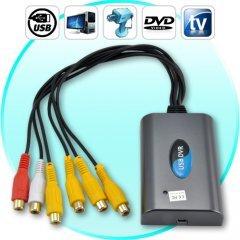 Super USB DVR (4 Video + 2 Audio Channels) New