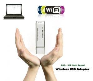 802.11N High Speed Wireless USB Adapter New