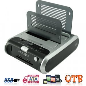 Premium Dual SATA Hard Drive Docking Station New