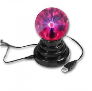 USB Plasma Ball - 3.5 Inch Electric Globe New