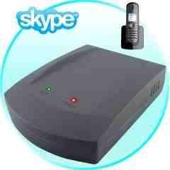 Skype VoIP USB + Landline (2-in-1) SkypeDECT Hub New