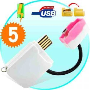 Portable Instant Cell Phone Battery Charger (Pink) x5 New