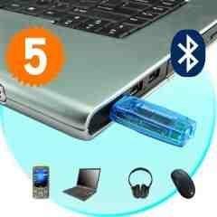 Long Range Bluetooth USB Adapter (Desktop PC / Laptop) x 5 New