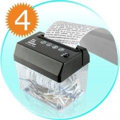 Gadget Paper Shredder + Letter Opener - USB Powered x 4 New
