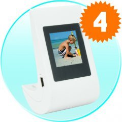 Digital Picture Frame 1.5 Inch LCD Screen (Tumbler Ed.) New