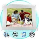 Digital Photo + Media Frame - 10.4 Inch LCD Screen New