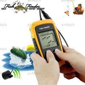 Fish Finder with Sonar Sensor New