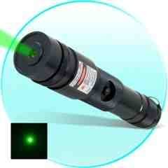 High Power 100mW Green Laser Pointer - All Metal Combat Edition New