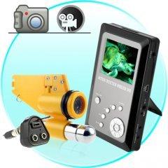 Professional Underwater CCD Video Camera w/ Video Recording DVR New