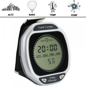 K2 - Wristop Digital Compass, Altimeter, Barometer, Thermometer New