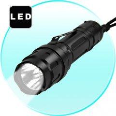 FlashMax G177 - CREE LED Flashlight w/ Belt Clipm) New