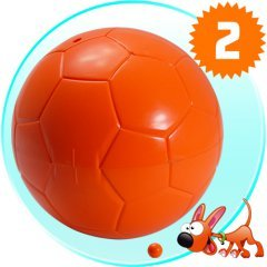 Autofetch Motion Pet Ball - Mobile Powerball for Dogs and Cats New