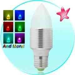 Waterproof LED Color Light Bulb with Wireless Remote New
