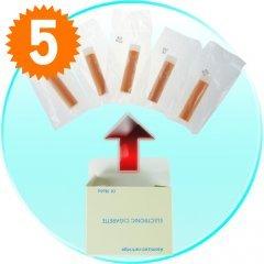 E-Cigarette Refill Pack w/5 Cartridges (for CVFA-H10, CVFA-H12) x 5 New