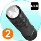 FlashMax G178 - CREE LED Pocket Flashlight (76 mm)  x 2 New