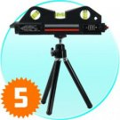 Laser Plumb Alignment Tool with Magnetic Base + Mini Tripod x 5 New