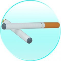 Electronic Cigarette Anti Smoking Aid with Realistic Flavor New