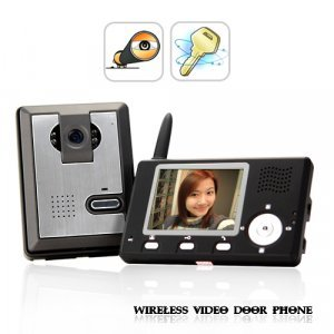 Entry Guardian - Wireless Video Door Phone (CMOS Sensor) New