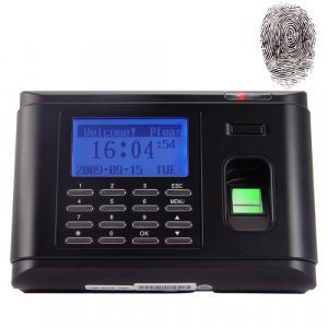 Fingerprint Time Attendance Access System with Data Recording New