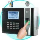 Fingerprint Time Attendance And Door System (Black) New
