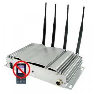 Advanced Mobile Phone Signal Jammer with High + Low Outputs New