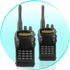 Professional Walkie Talkie Set - UHF FM Transceiver New