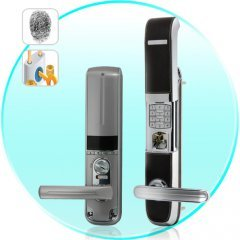 Protector - Heavy Duty Fingerprint Door Lock (Right) New