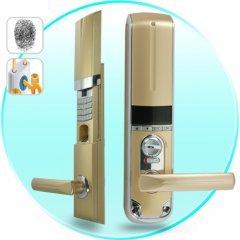 Bronze Fingerprint Door Lock (Left) New