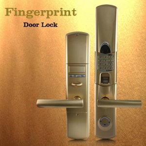 Fingerprint Door Lock Sleek (Right) New