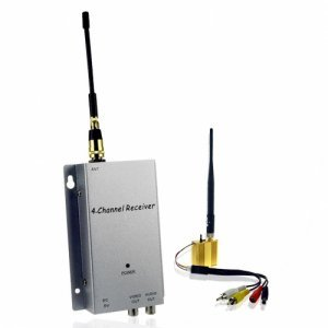 Wireless Signal Booster and Receiver Kit (300 meter monster) New